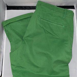GAP green chinos